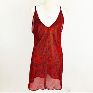 Victoria's Secret Collection Red Chemise Medium